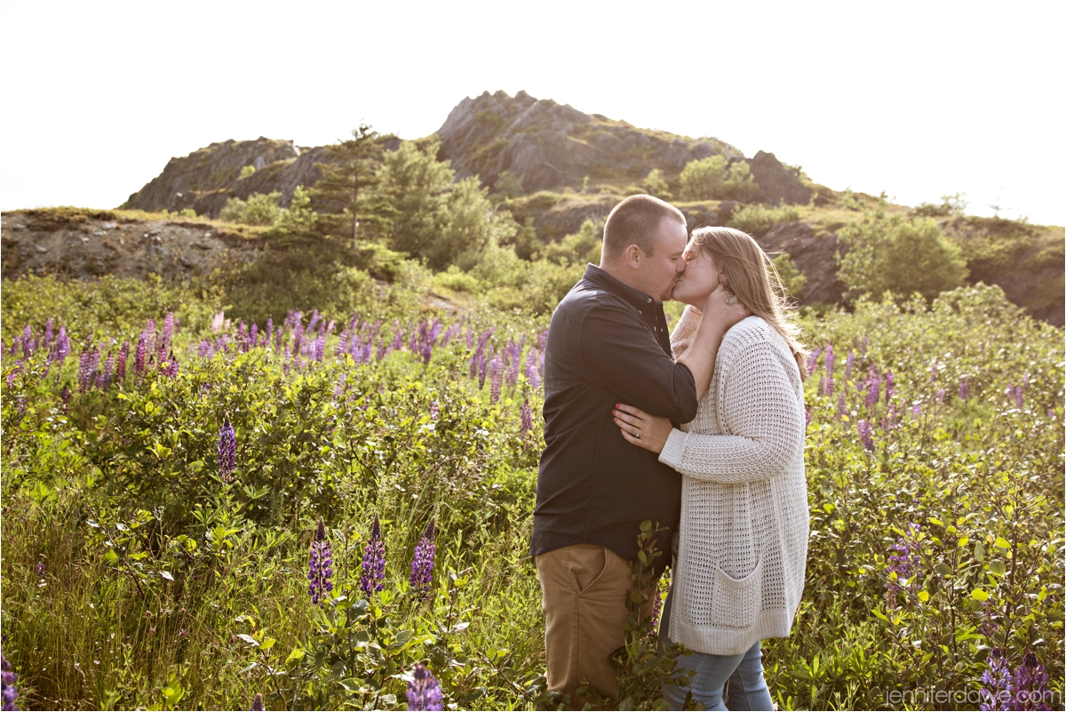 Signal Hill Engagement Session Lupin Engagement Session Best St John's Newfoundland Wedding Photographer2