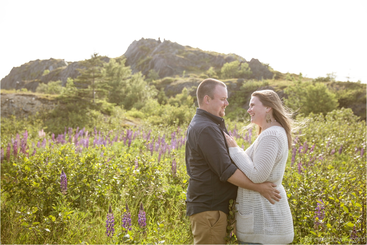 Signal Hill Engagement Session Lupin Engagement Session Best St John's Newfoundland Wedding Photographer4